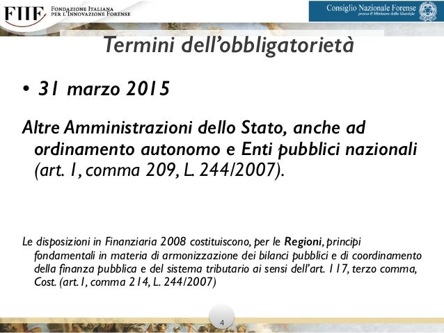 • 31 marzo 2015 Altre Amministrazioni dello Stato, anche ad ordinamento autonomo e Enti pubblici nazionali (art. 1, comma ...