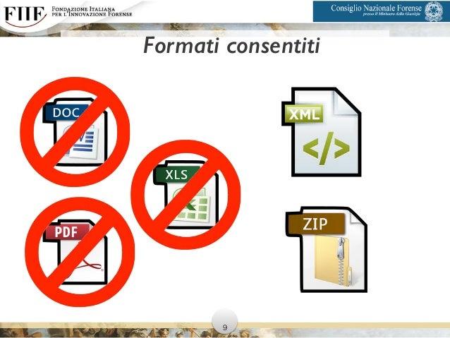 Formati consentiti 9