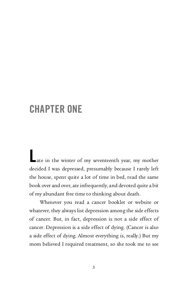 the fault in our stars pdf 313 pages