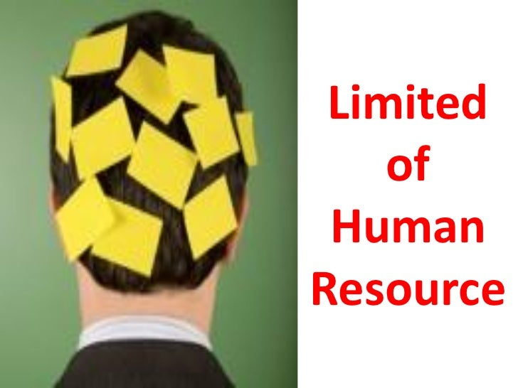 Limited    of HumanResource       11