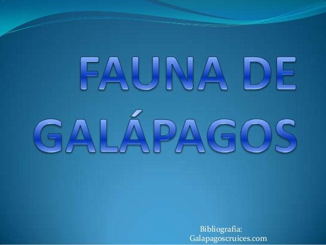 Galapagoscruices.com Bibliografia: