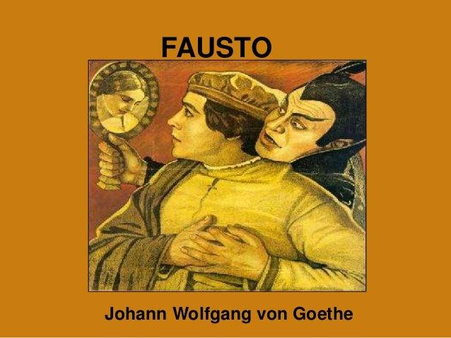 FAUSTO Johann Wolfgang von Goethe