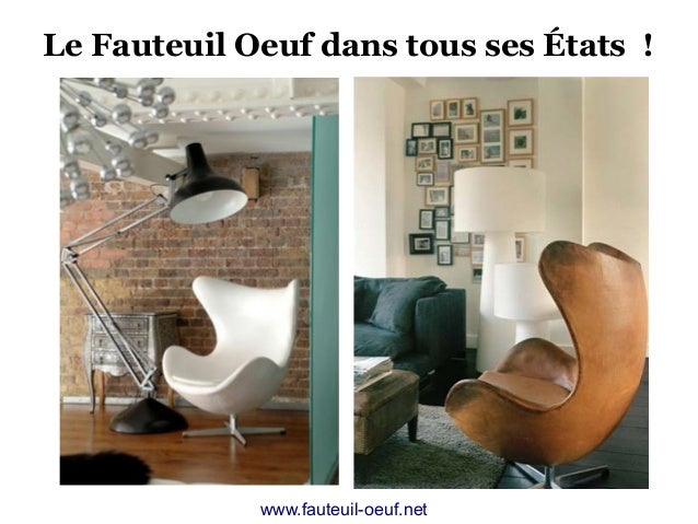 fauteuil oeuf jacobsen dans votre salon. Black Bedroom Furniture Sets. Home Design Ideas