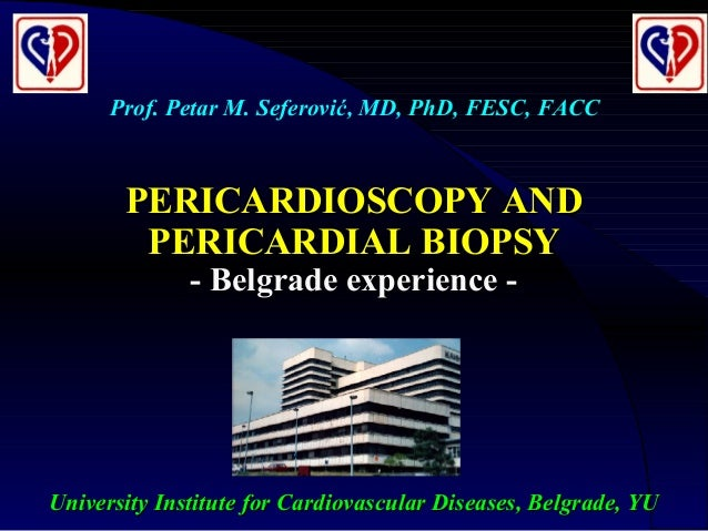 University Institute for Cardiovascular Diseases, Belgrade, YUUniversity Institute for Cardiovascular Diseases, Belgrade, ...