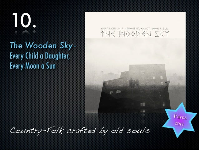 10.The Wooden Sky -Every Child a Daughter,Every Moon a Sun                                    Faves                       ...