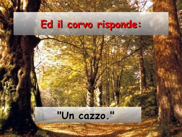 Favola Della Lepre E Del Corvo Slide 3