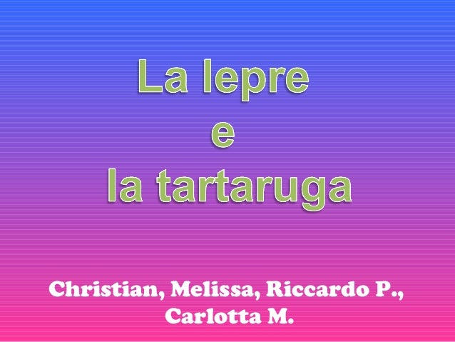 Christian, Melissa, Riccardo P.,Carlotta M.
