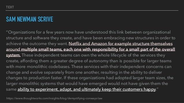 Favorire i feature teams con architetture microservices Slide 3