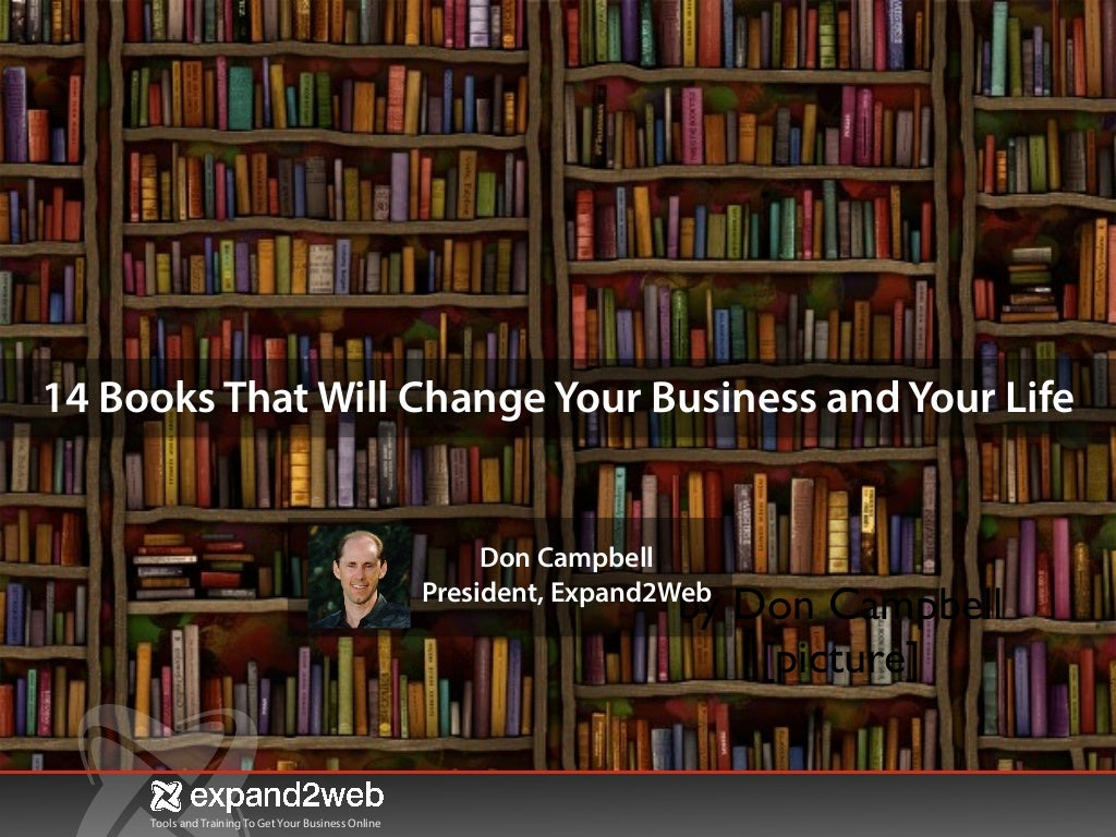 14 Books That Will Change Your Life And Your Business