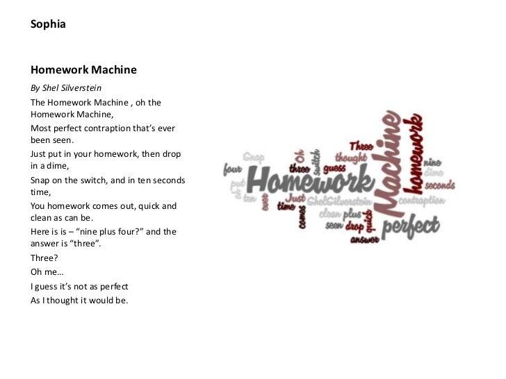 homework stew by kenn nesbitt