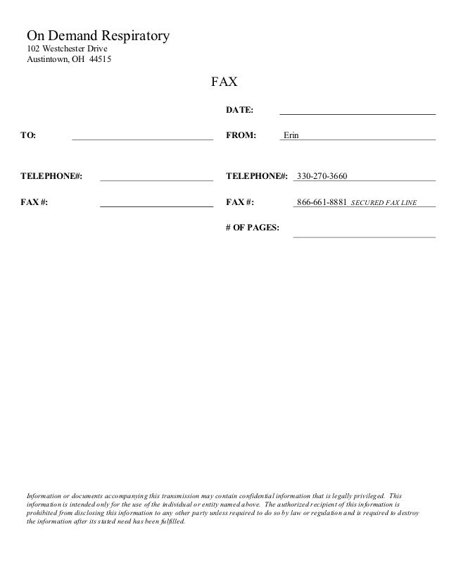how to do a fax cover sheet