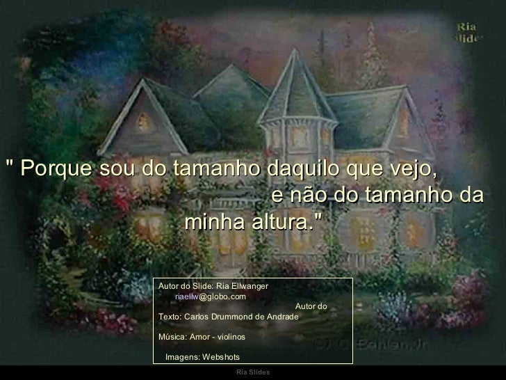 Faxina Da Alma Carlos Drumond Andrade