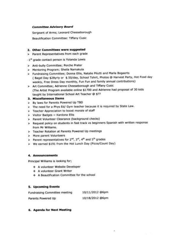 Faxon 100412 Approved Minutes Slide 2