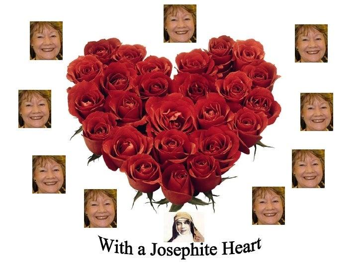 With a Josephite Heart