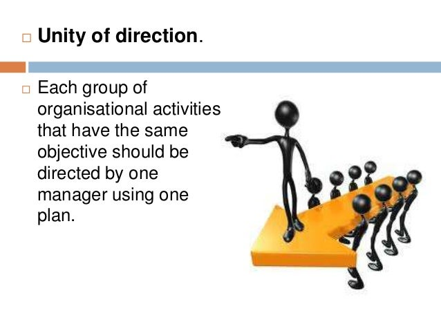 The gallery for --> Principle Of Unity Of Direction In ...