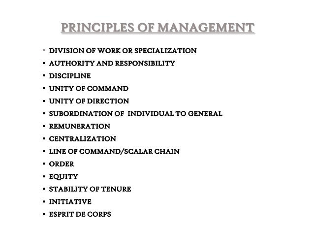 administrative theory Fayol's administrative management theory source:drvidyahatadicom through  his rich experience, fayol provided 14 principles of general management to.