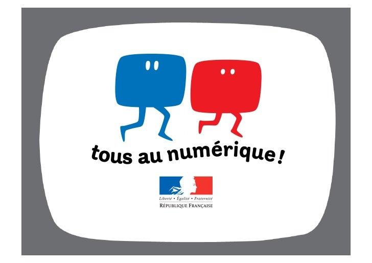 Conférence de presse        Passage à la télé tout numérique Lancement de la campagne nationale d'information             ...