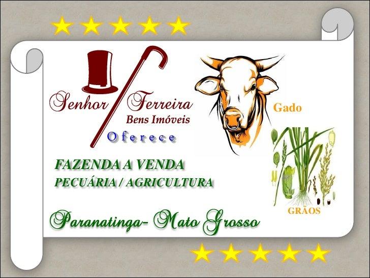 Fazendar e ac evenda    Ofe                         GadoFAZENDA A VENDAPECUÁRIA / AGRICULTURA                           GR...