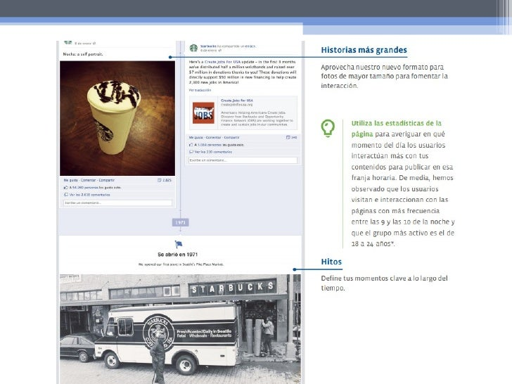 Generar interacciones• Pedir a TUS clientes que dejen recomendaciones  o comentarios en tu página.• Asociarte con otras ma...