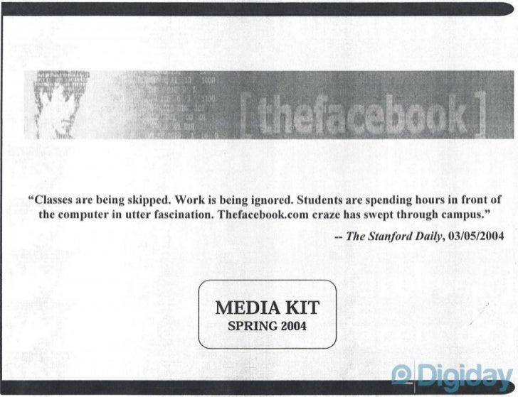Facebook Media Kit (2004)