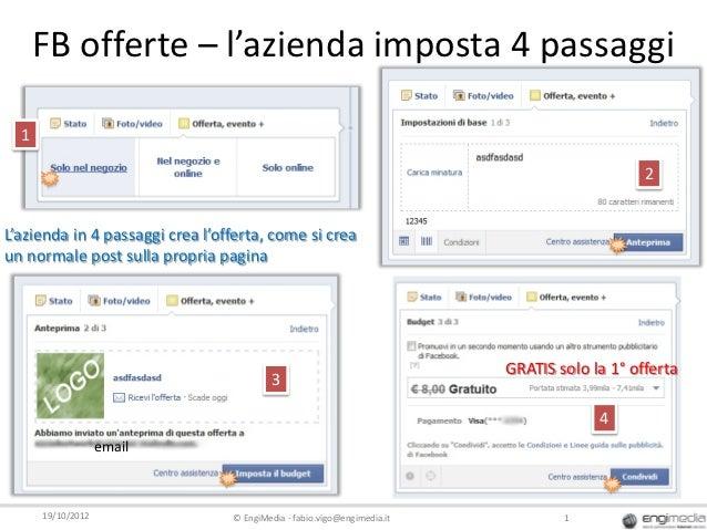 FB offerte – l'azienda imposta 4 passaggi  1                                                                              ...