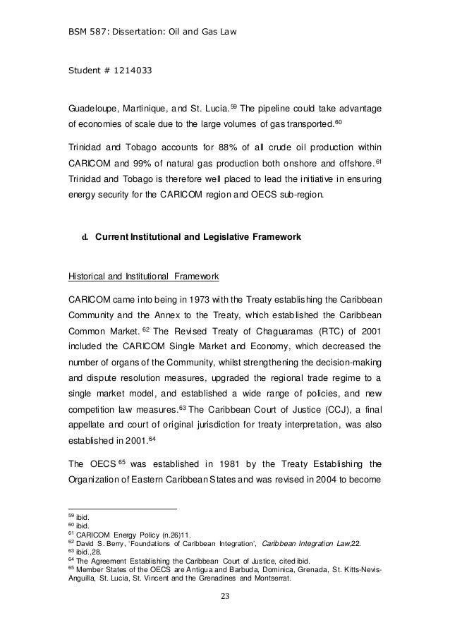oil and gas llm dissertation final g b mcclean 2 ariel version 1