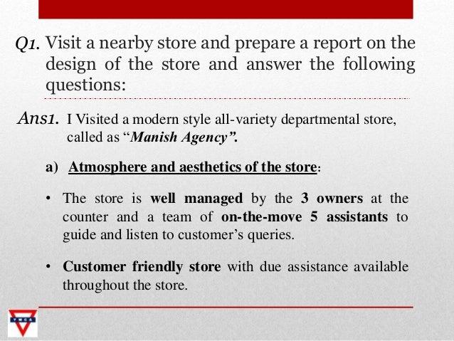 Retail trade management