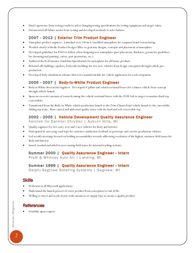 Fine Aerotek Engineering Resume Picture Collection - Resume Ideas ...