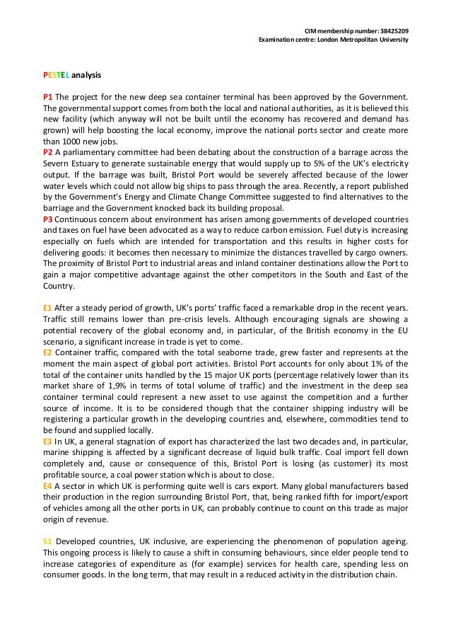swot analysis bristol port The swot analysis of port chemical industry can help us make clear the subjective and objective conditions, better bring our strengths into play, avoid our demerits, seize the opportunities and respond to the challenges accordingly.