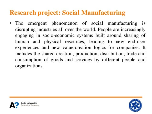 2015.2 Tekes Fidi Pro Social Manufacturing Project Report