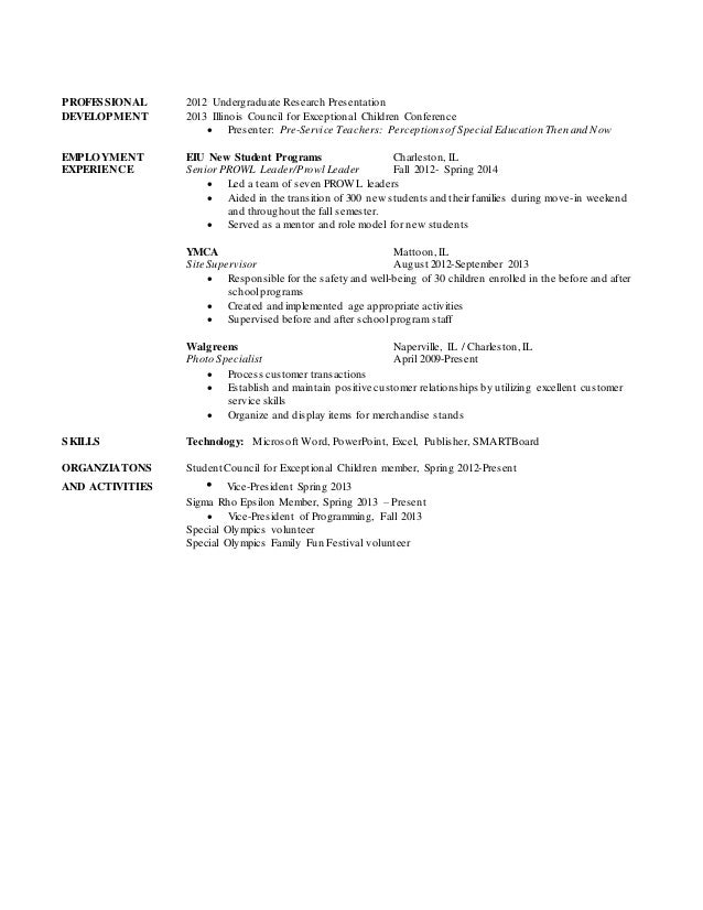 erin potter resume