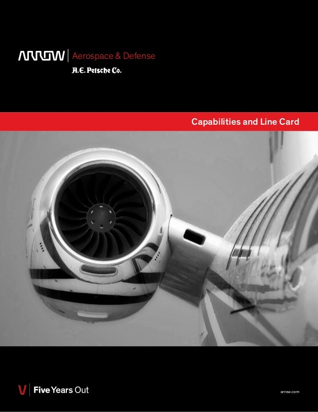 Aerospace & Defense Capabilities and Line Card arrow.com
