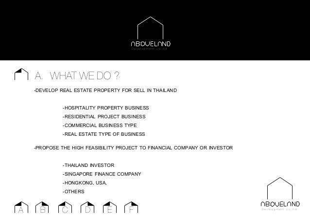 ABOVELAND Development company plan