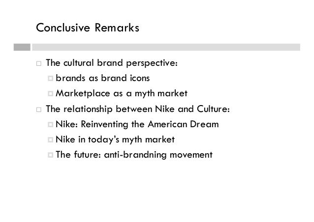 cross cultural perspective nike corporation Cross-cultural strategies nike, inc is one of the most recognized multi-national corporations in the world for the last 25 years, the company has re-invented the athletic apparel and shoe industry generating hundreds of billions of dollars in revenue since its creation.