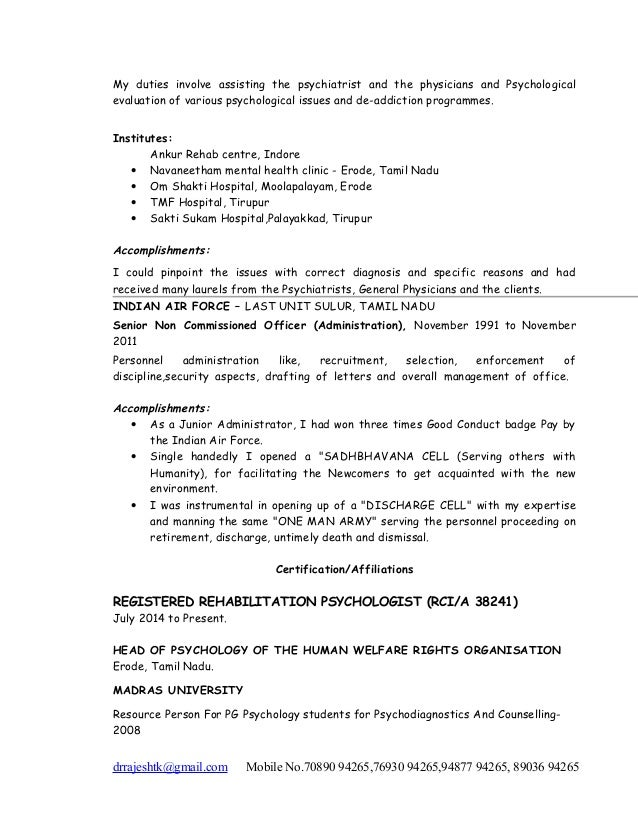 Resume DR RAJESH KALAM