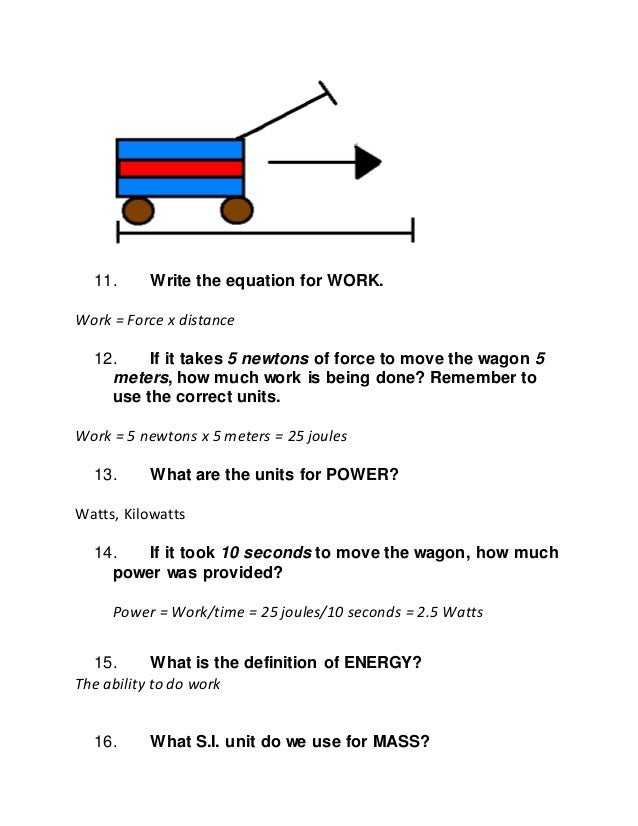 Work And Power Worksheets Sharebrowse – Work Power Energy Worksheet