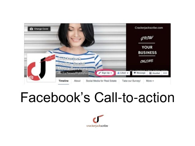 Facebook's Call-to-action