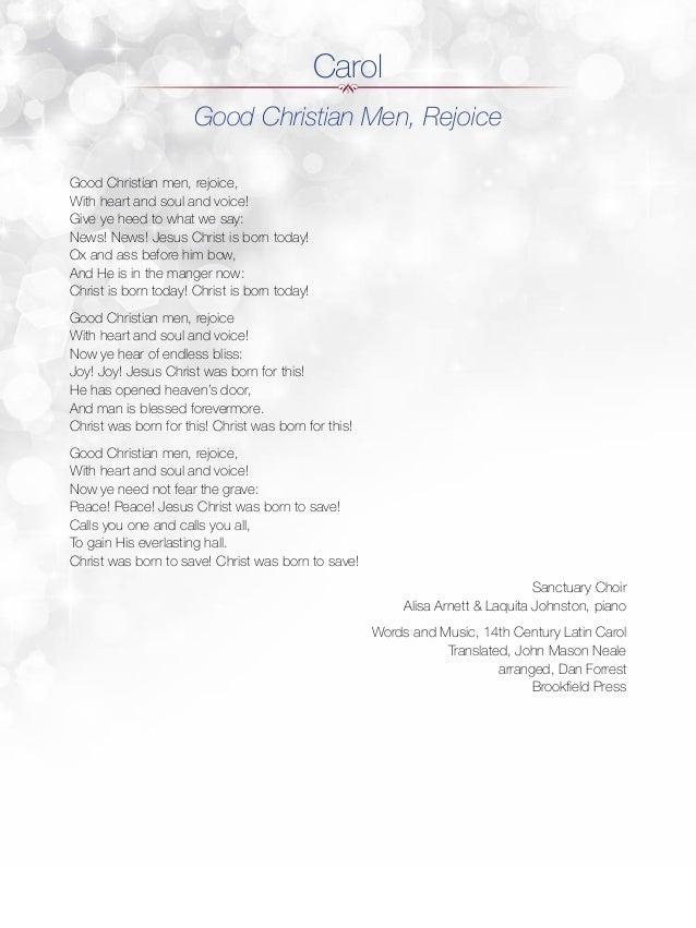 FBC Keller Lessons and Carols Program 2014