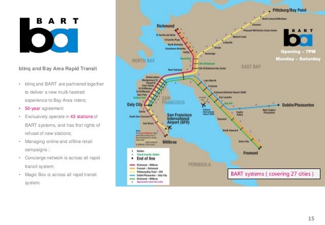 blinq and Bay Area Rapid Transit • blinq and BART are partnered together to deliver a new multi-faceted experience to Bay ...