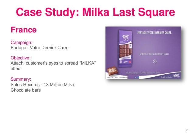 "France Campaign: Partagez Votre Dernier Carre Objective: Attach customer""s eyes to spread ""MILKA"" effect Summary: Sales Re..."
