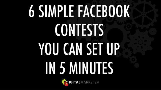 6 SIMPLE FACEBOOK