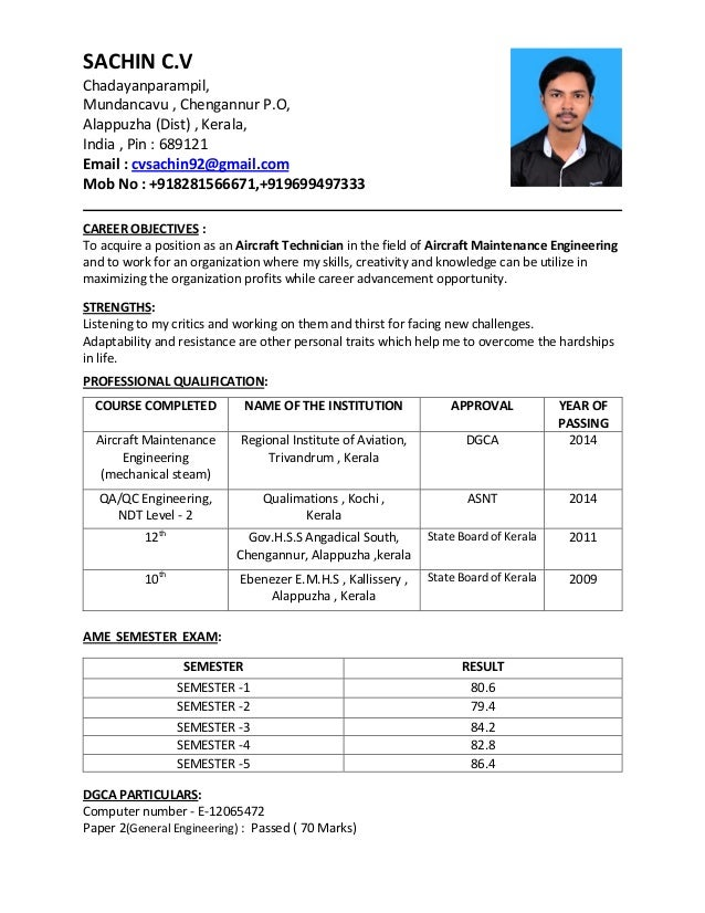 cover cv certificates