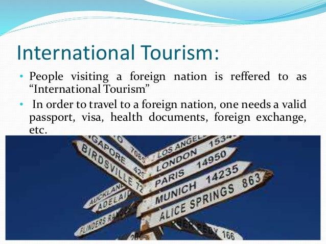 Tourism Foreign Exchange Earnings Infrastructure Development •Transportation •Restaurants •Telecoms •Public Utlities Emplo...