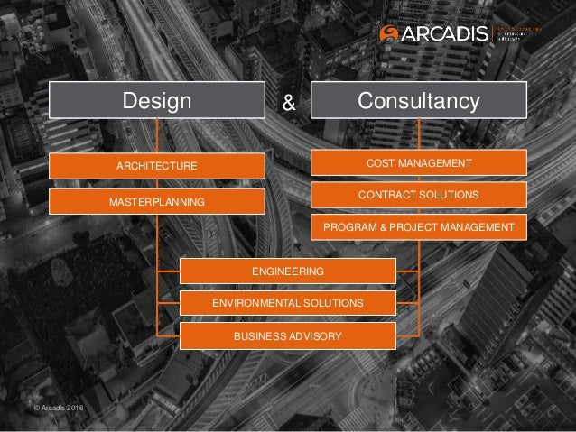 20160502 presentation arcadis europe south for Arcadis consulting