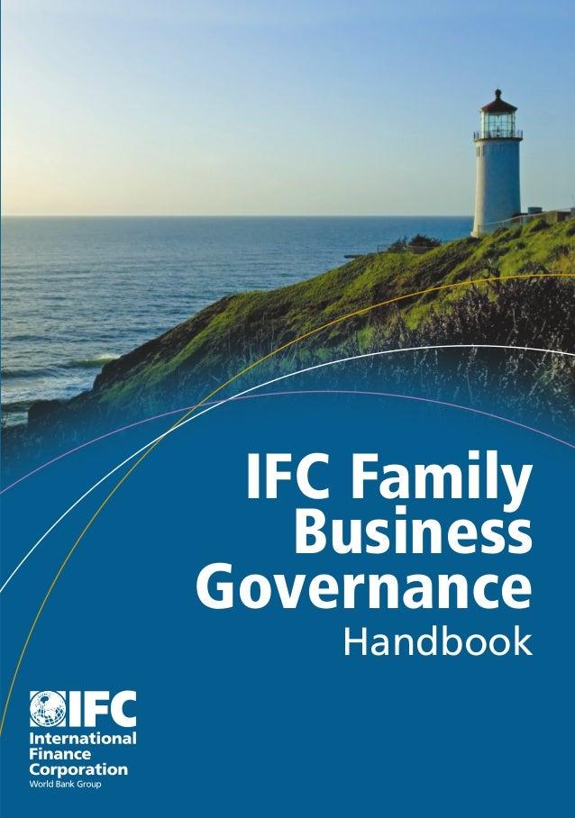 IFC Family   BusinessGovernance    Handbook