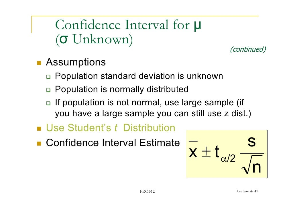Fec 51204 confidence interval ccuart Images