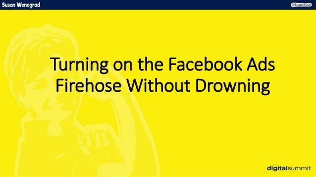 Turning on the Facebook Ads Firehose Without Drowning