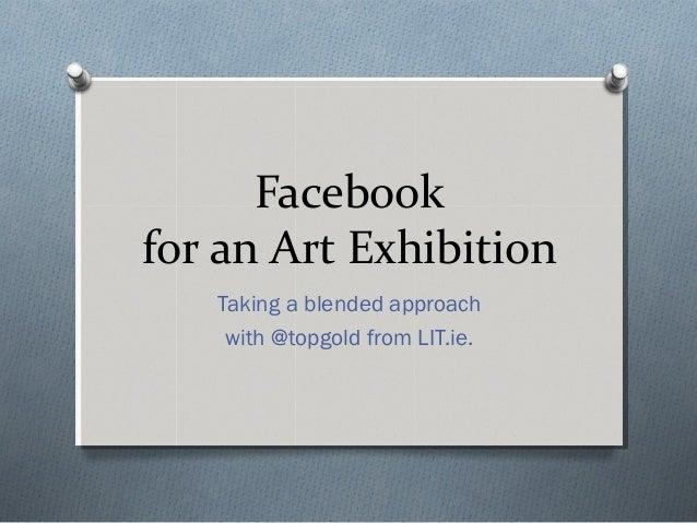 Facebook for Art Slide 2