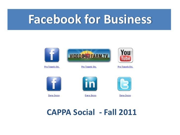 Facebook for Business  Pro Towels Etc.        Pro Towels Etc.   Pro Towels Etc.     Dana Zezzo             Dana Zezzo     ...