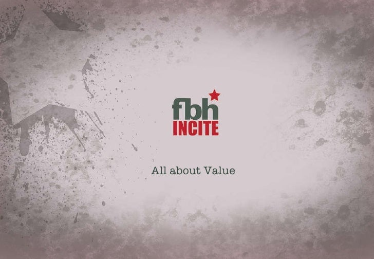 All about Value